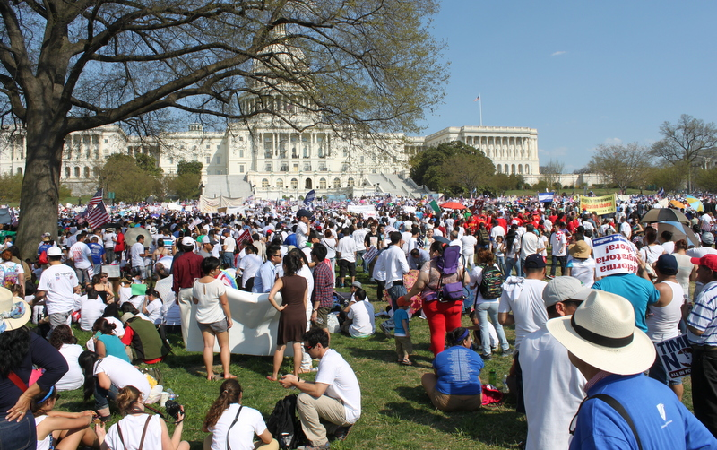 photos:  Faustina Banuelos/The Nation Report Rally outside of the nation's capitol